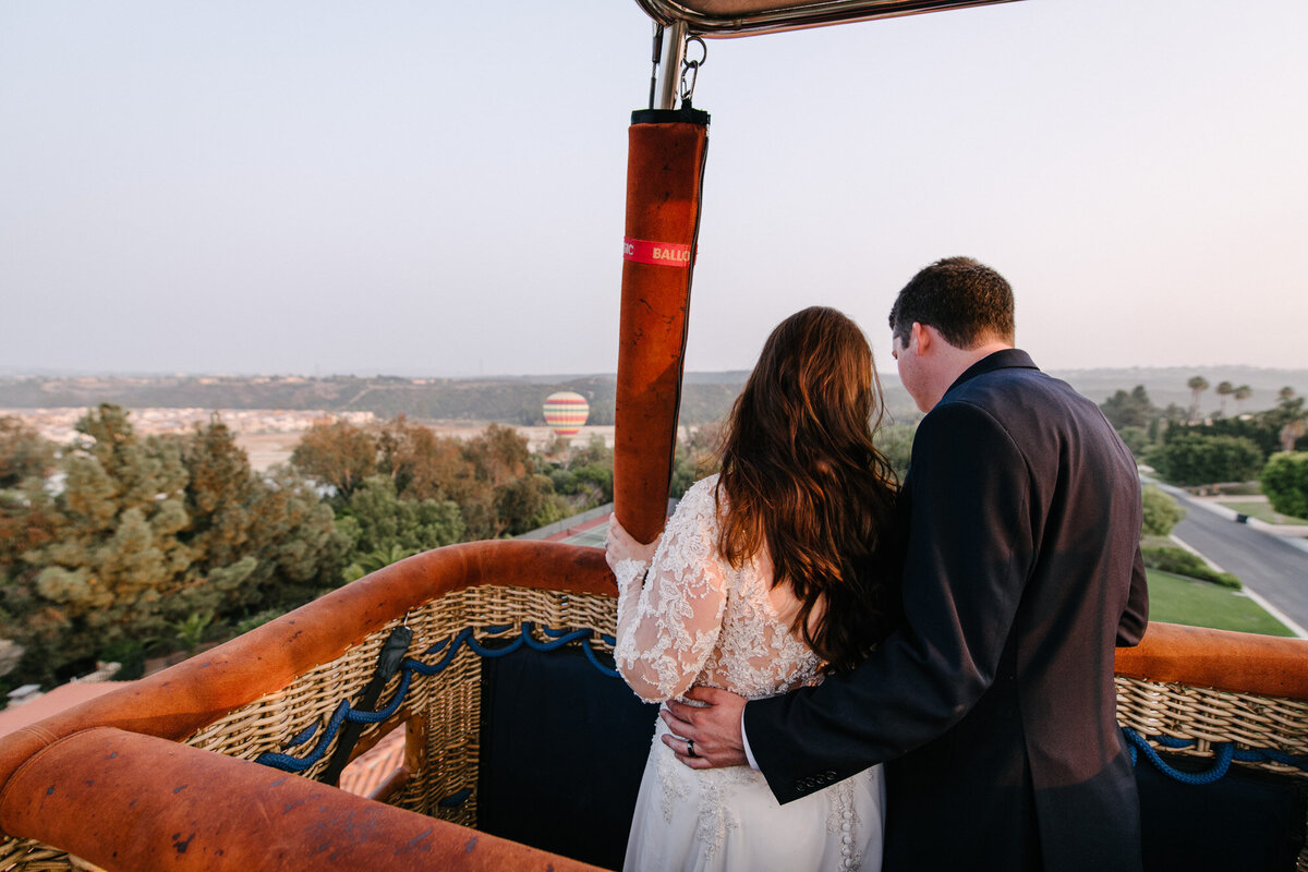 Hot Air Balloon Elopement Marie Monforte Photography-189
