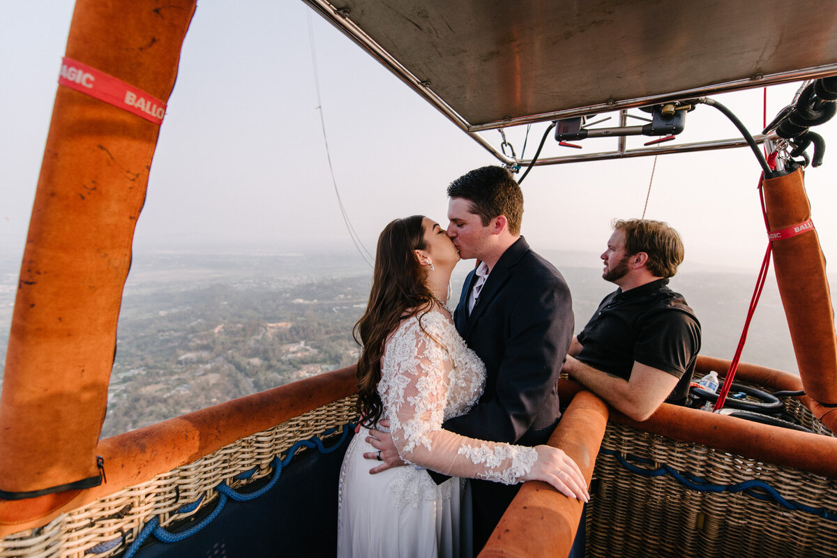 Hot Air Balloon Elopement Marie Monforte Photography-151