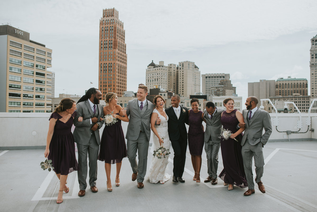 z-lot-parking-garage-wedding-pictures-detroit-wedding-photographer-girl-with-the-tattoos-michigan-wedding-photographer.1