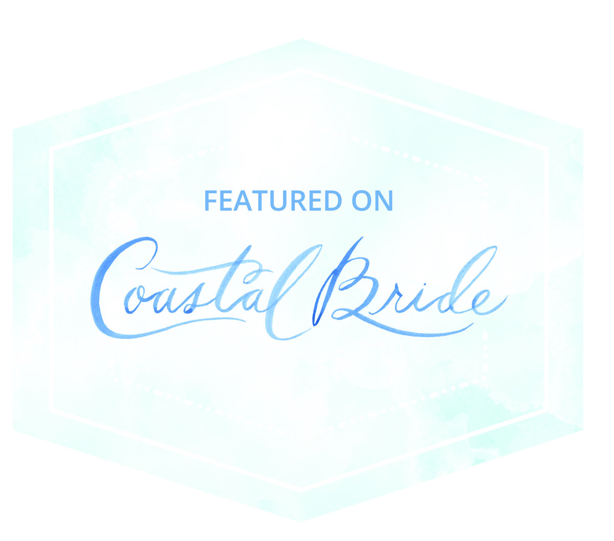 Coastal Bride Badge