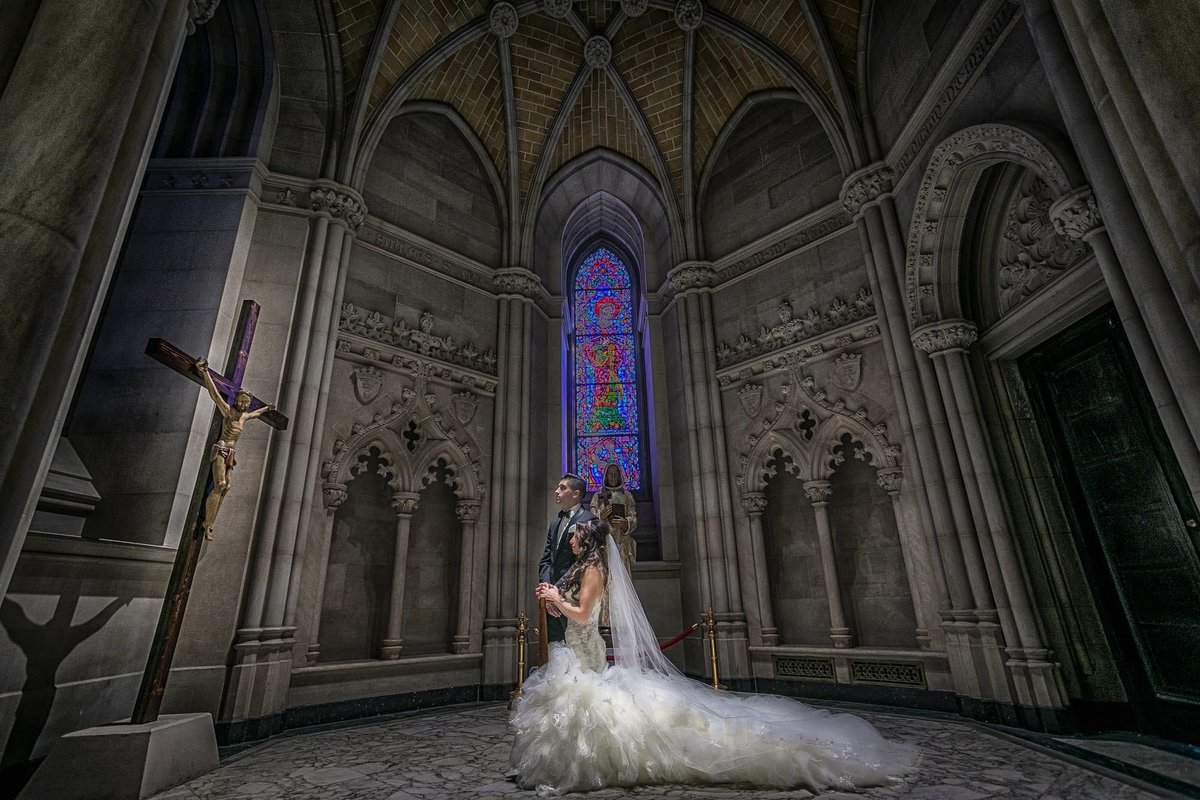 NJ Wedding Photographer Michael Romeo Creations newar church