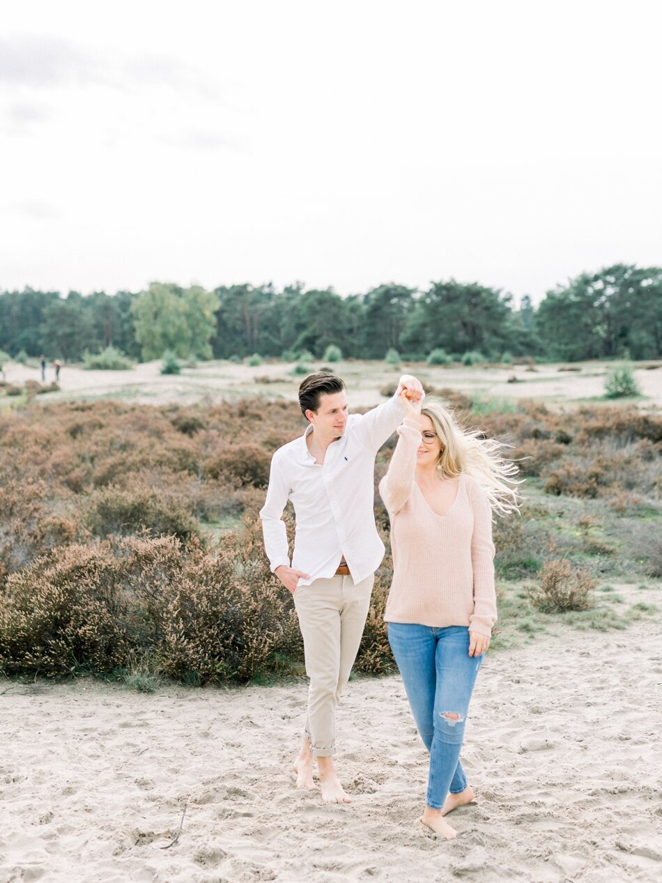 Engagement photos Soesterduinen by Fine Art Photographer Michelle Wever Photography_0007