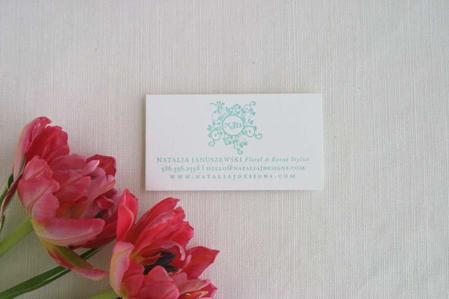 Letterpress-business-cards-robins-egg-blue