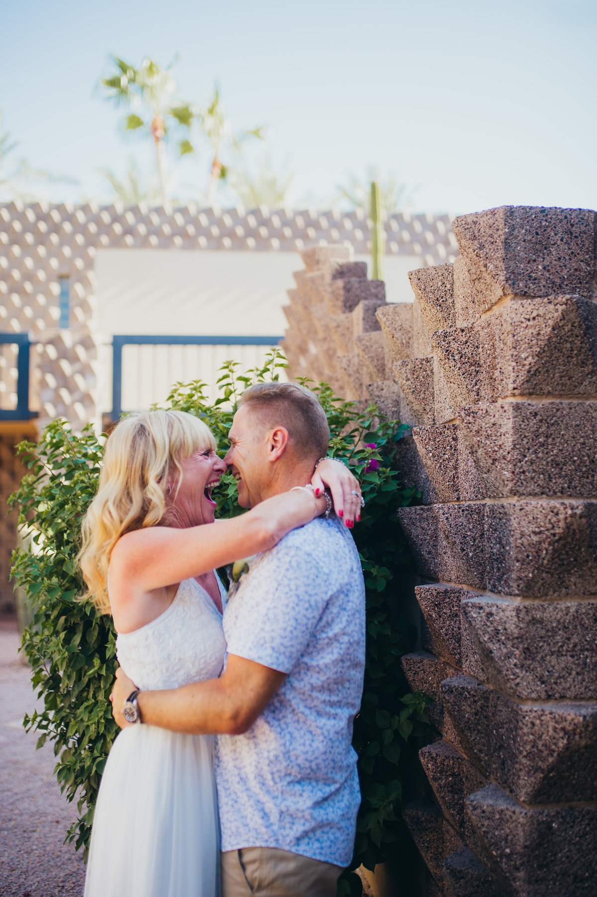 A couple that flew all the way from London to Scottsdale, Arizona to have an amazing Arizona Elopement