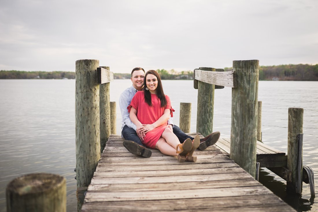 Lake Anna Engagement Session Melissa Sheridan Photography_0002