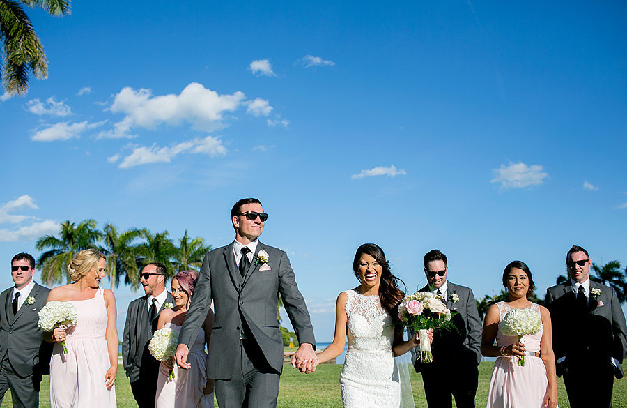 deering estate wedding party