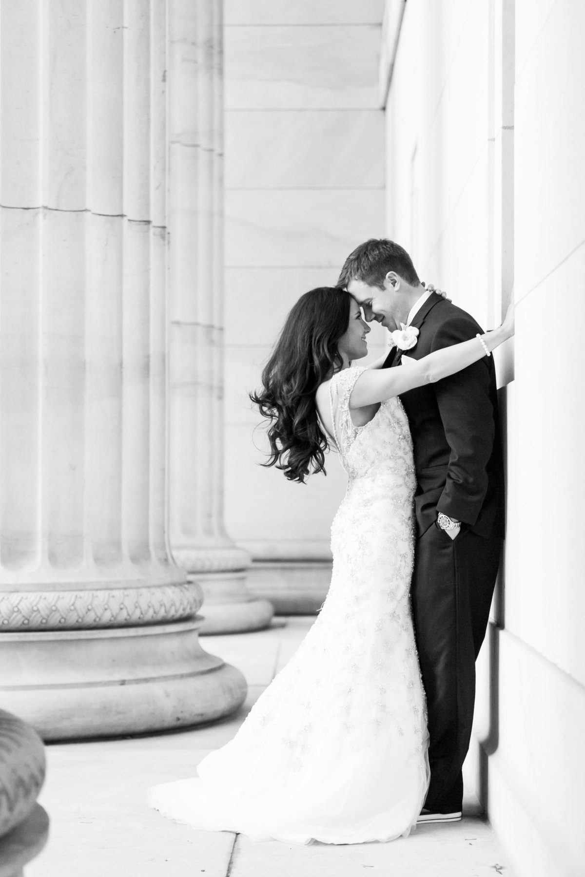 Classic Baltimore wedding photographer