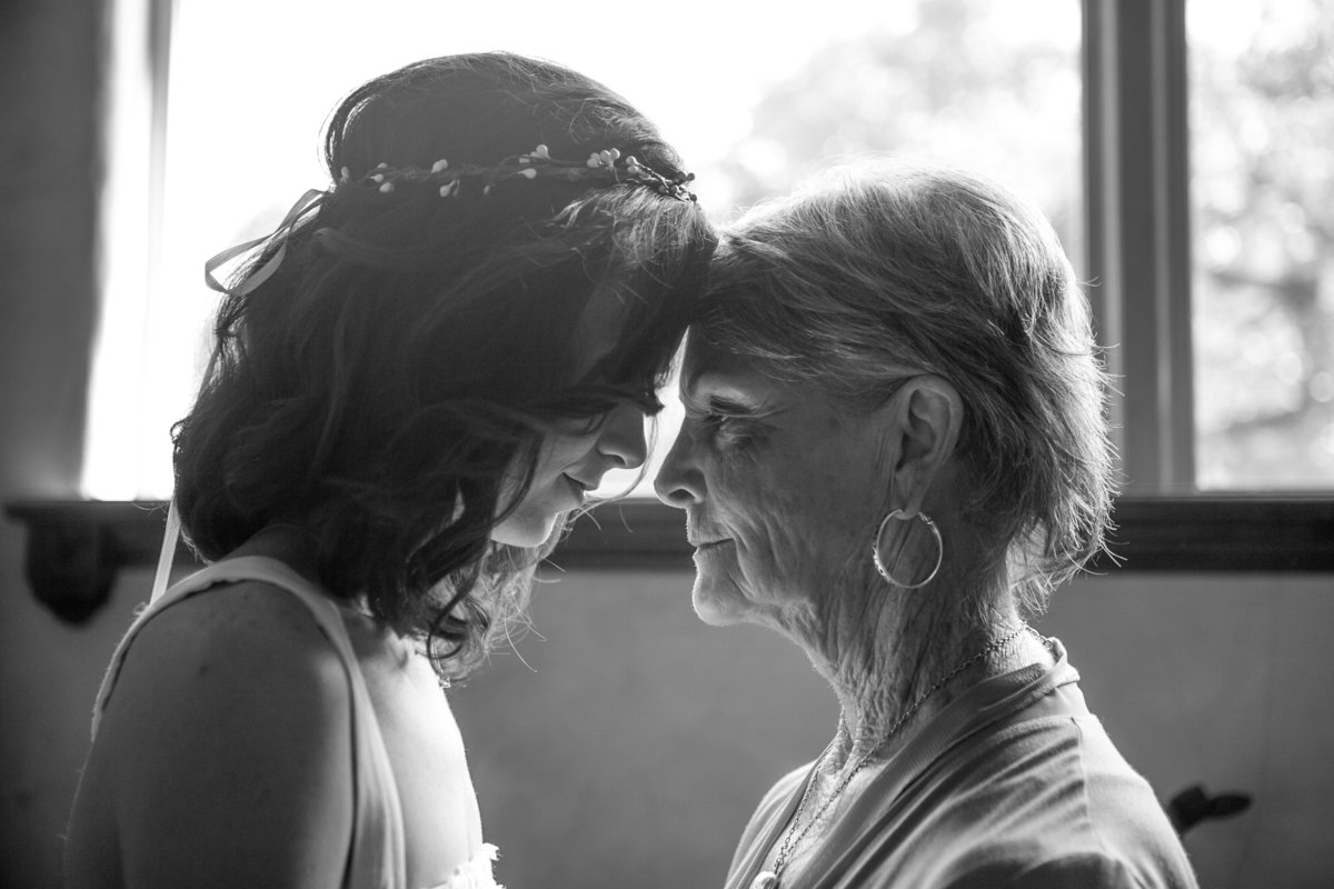 Austin Family Photographer, Tiffany Chapman Photography bride with grandmother photo