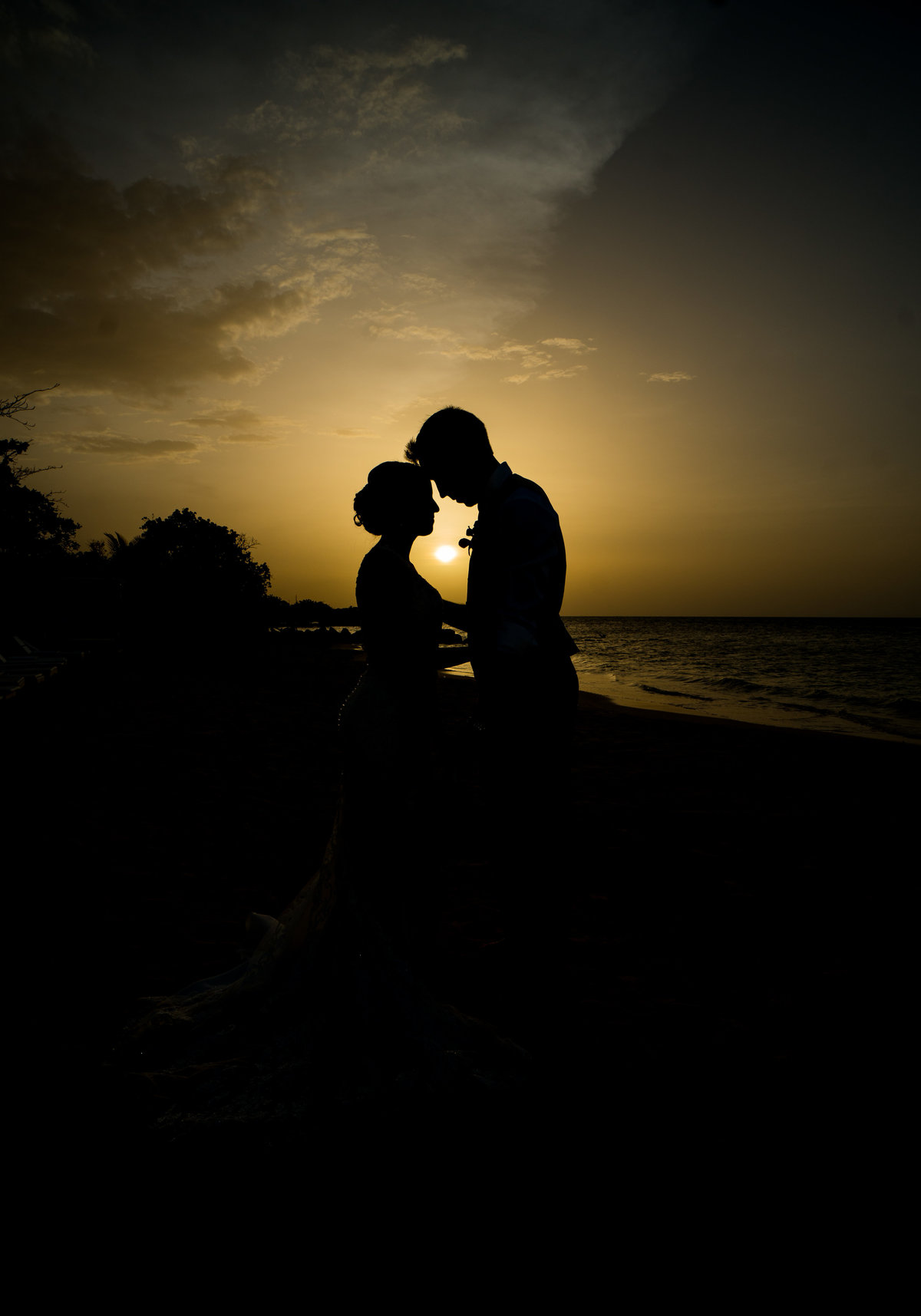 jamaica wedding, 405 brides, sunset wedding, destination photographer