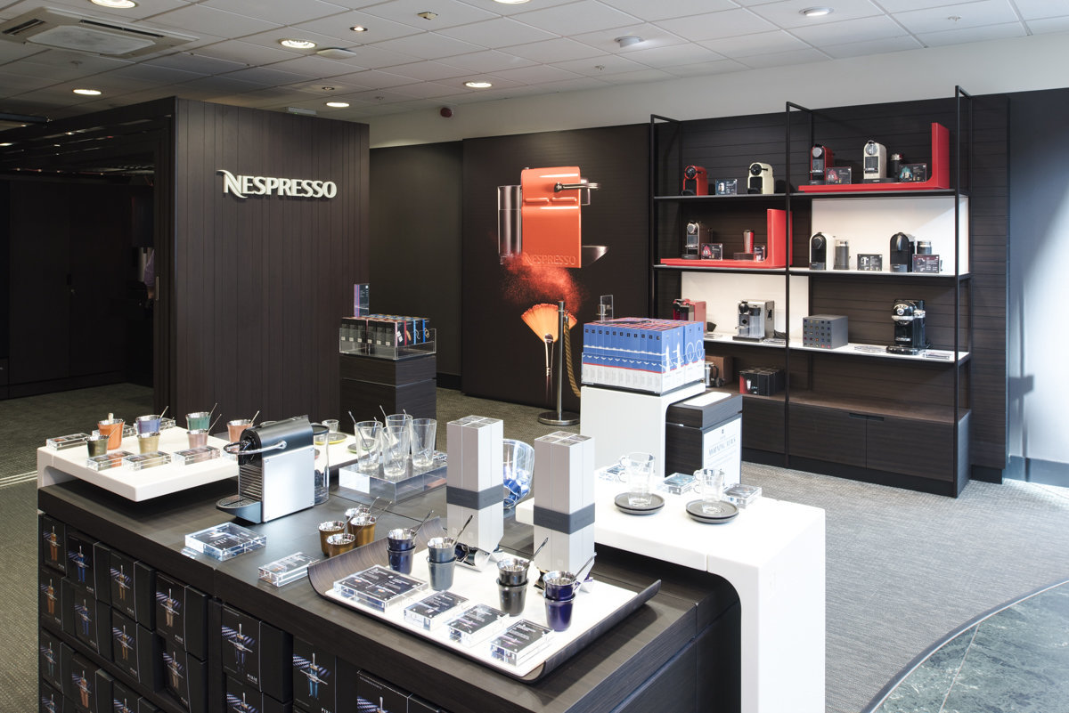 flagship store Nespresso London