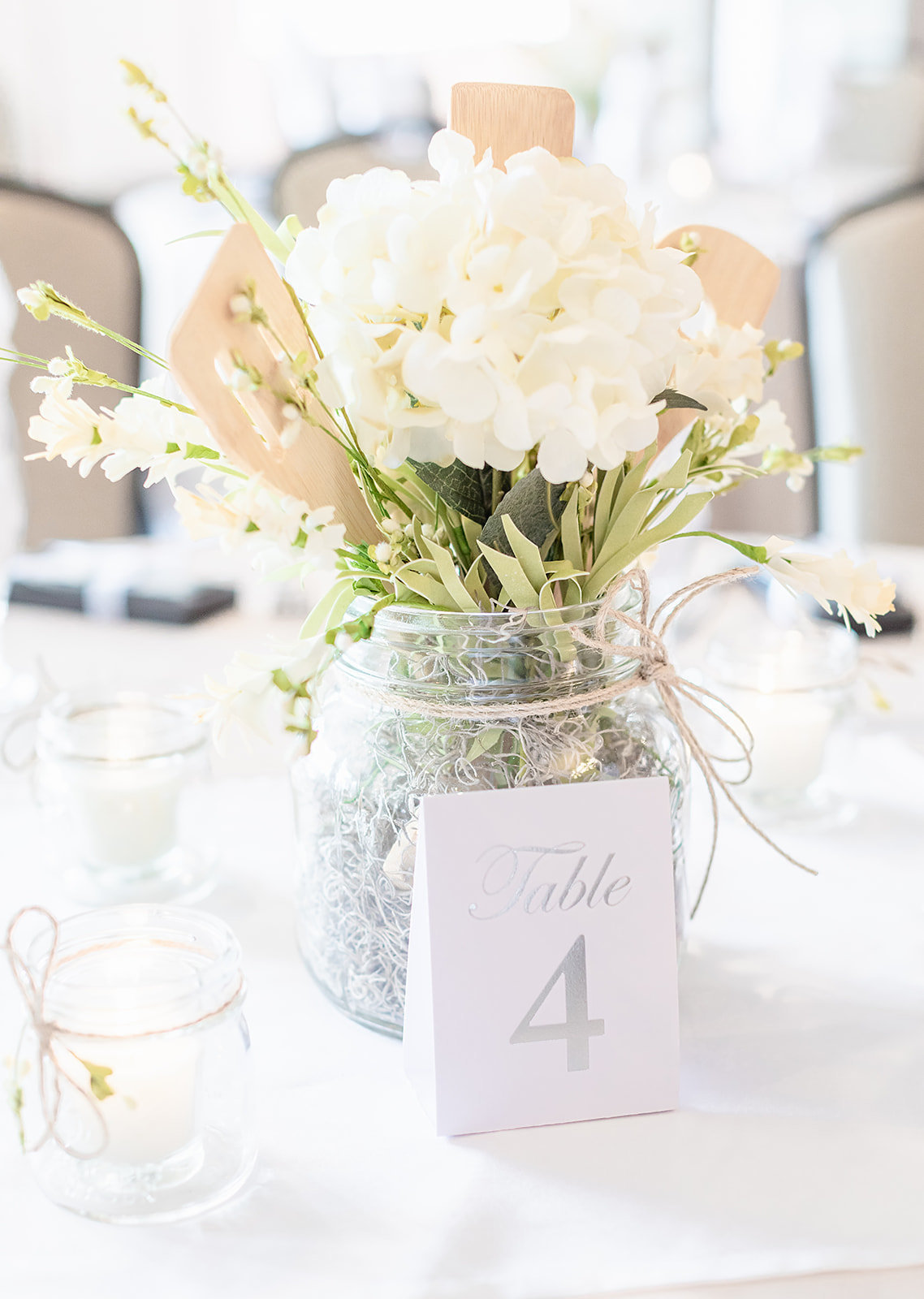 Table number ideas for bridal shower