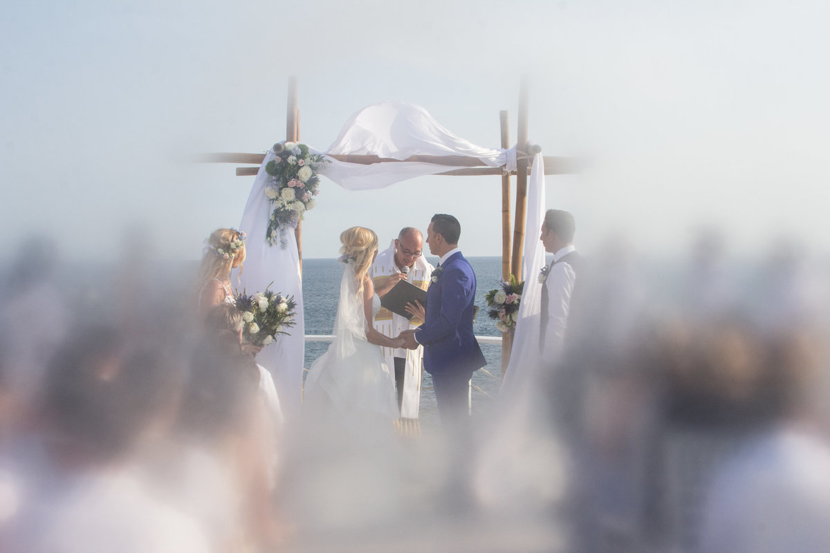 Cabo San Lucas wedding, wedding ceremony