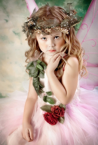 Enchantment fairy photography -portrait of girl