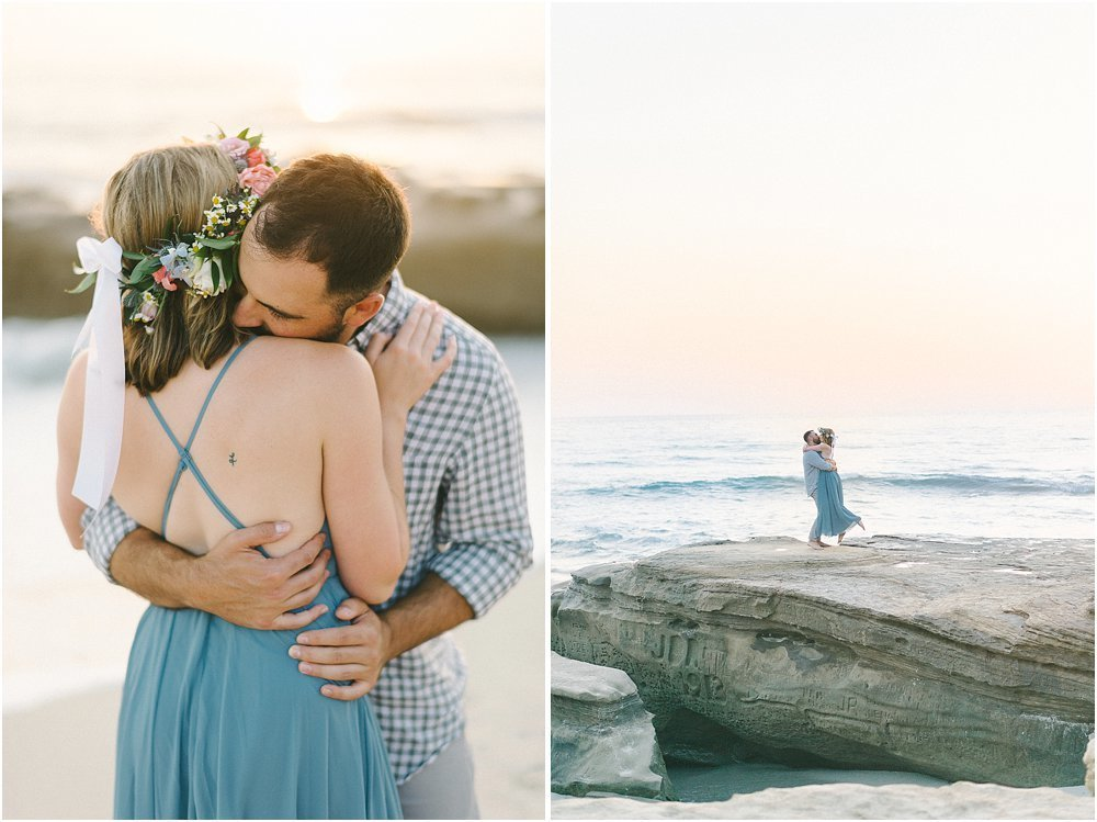 La Jolla California Beach Engagement Session-37