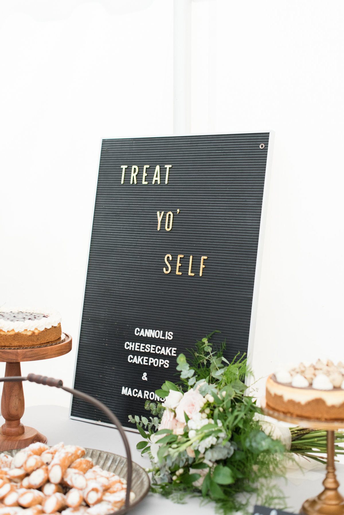 Letterboard decor from Heirlooms Vintage Rentals at Stepstone Centre wedding in Thundr Bay