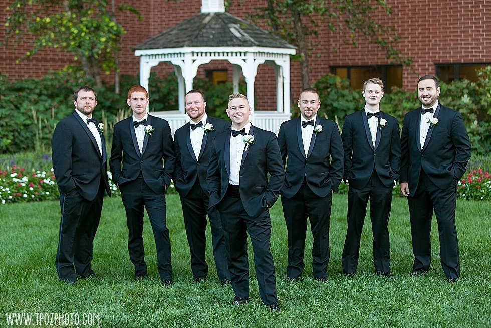 Royal Sonesta Harbor Court Baltimore wedding groomsmen
