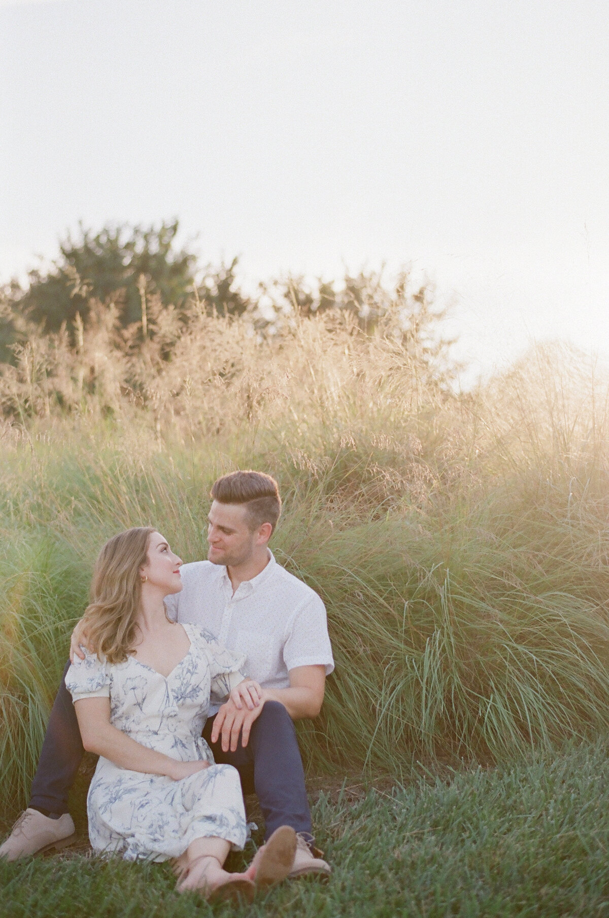 Engagement Photography at the NC Museum of Art in Raleigh, NC 15