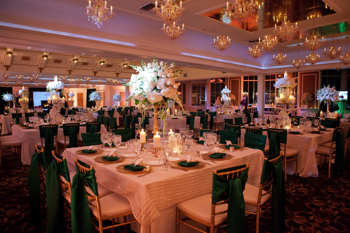 Westmount Country Club Wedding NJ Wedding Planner Emerald Green 17
