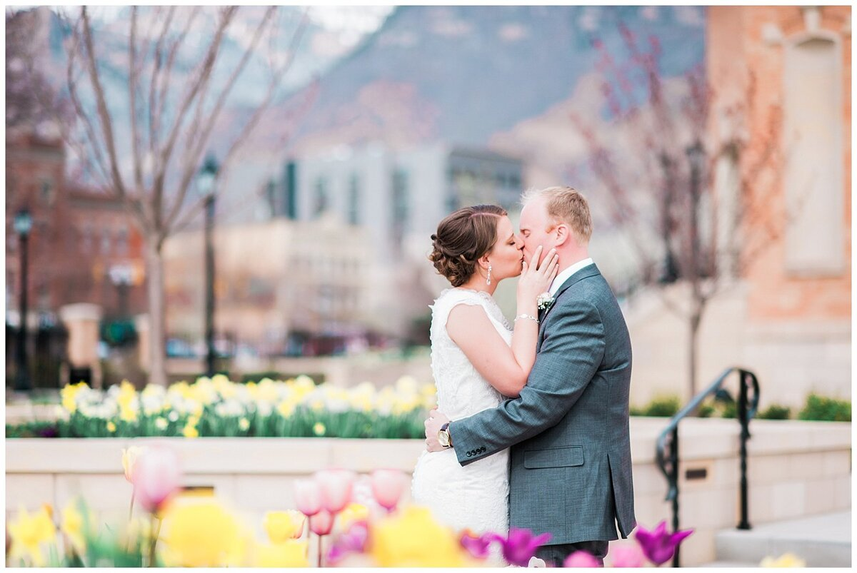 Provo City Center Temple Wedding Utah Photographer photo013