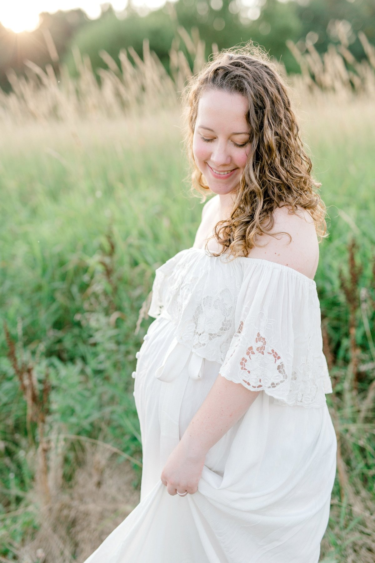 ETHEREAL SUMMER MATERNITY SESSION | MECHANICSBURG MATERNITY PHOTOGRAPHER_0997
