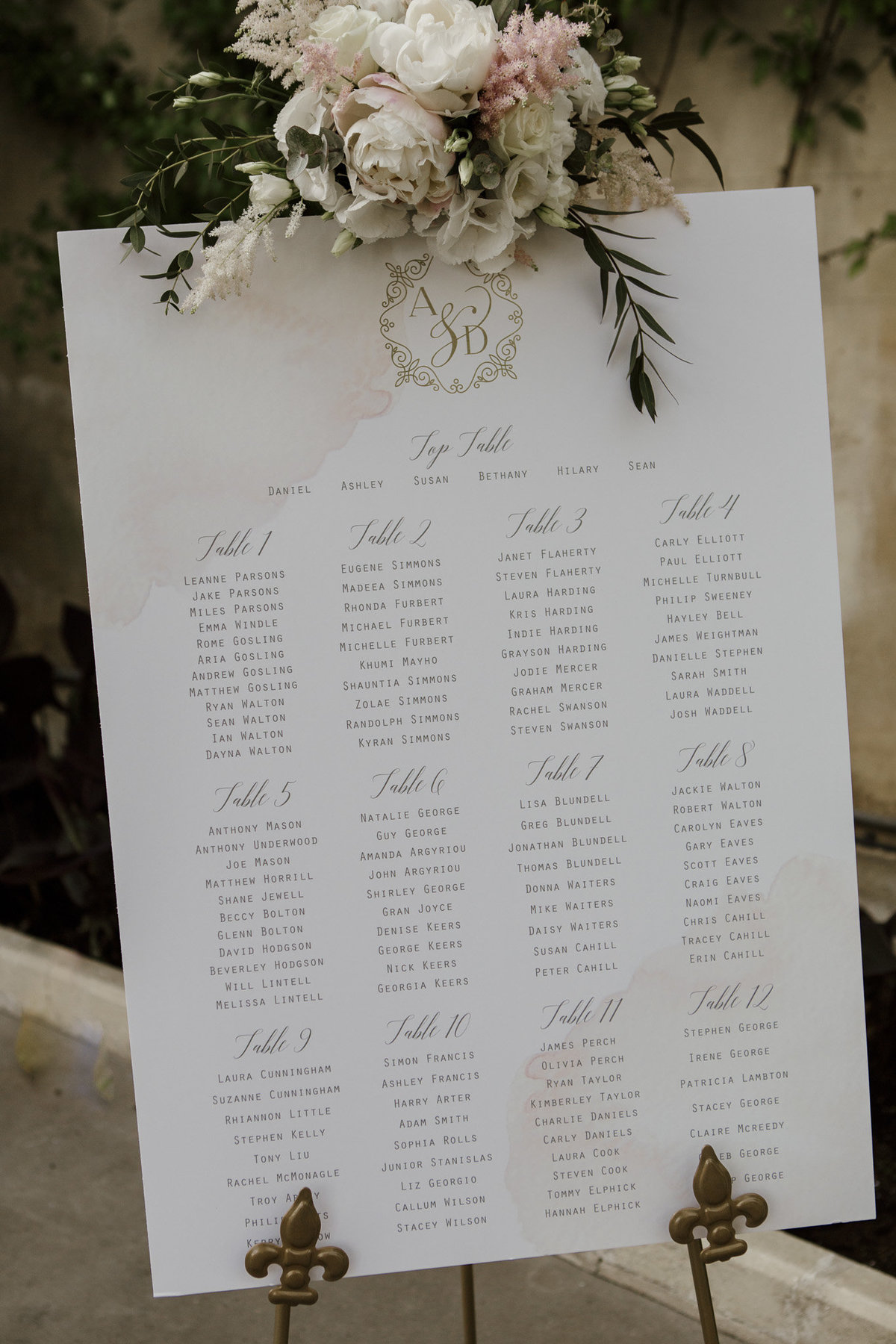 Seating Chart Inspiration