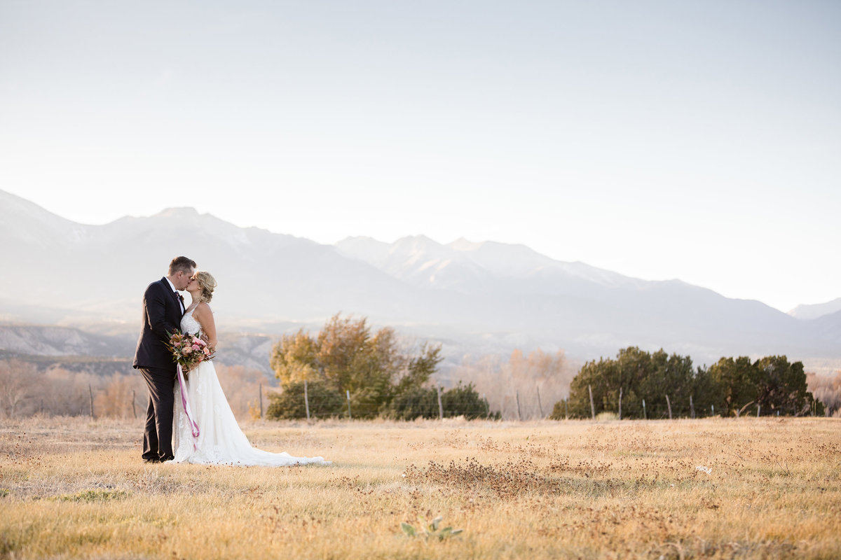 Everett Ranch Rocky Mountain Wedding Outdoor Barn Rustic Salida Colorado Alpaca Collegiate Peaks Vintage Ranch Mount Princeton Yale Harvard Fish 022
