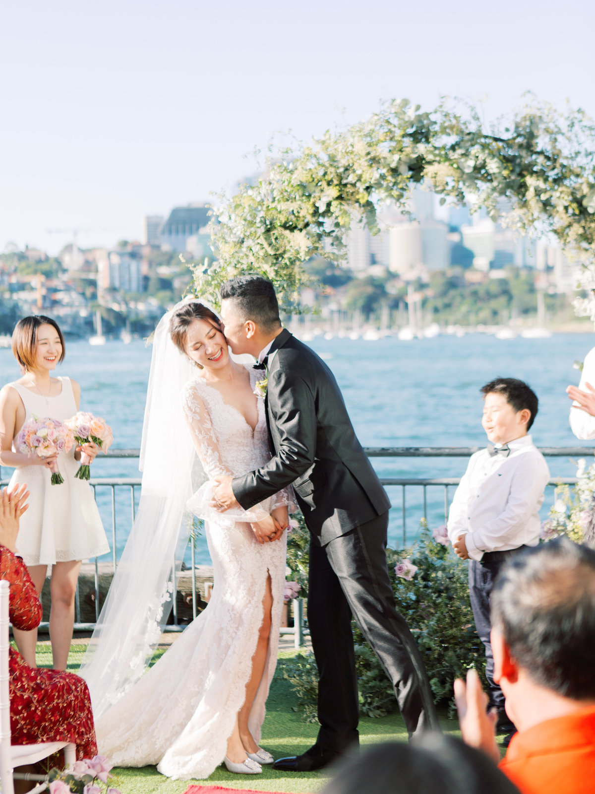 luxurious waterfront sydney pier one wedding jack stephanie0038