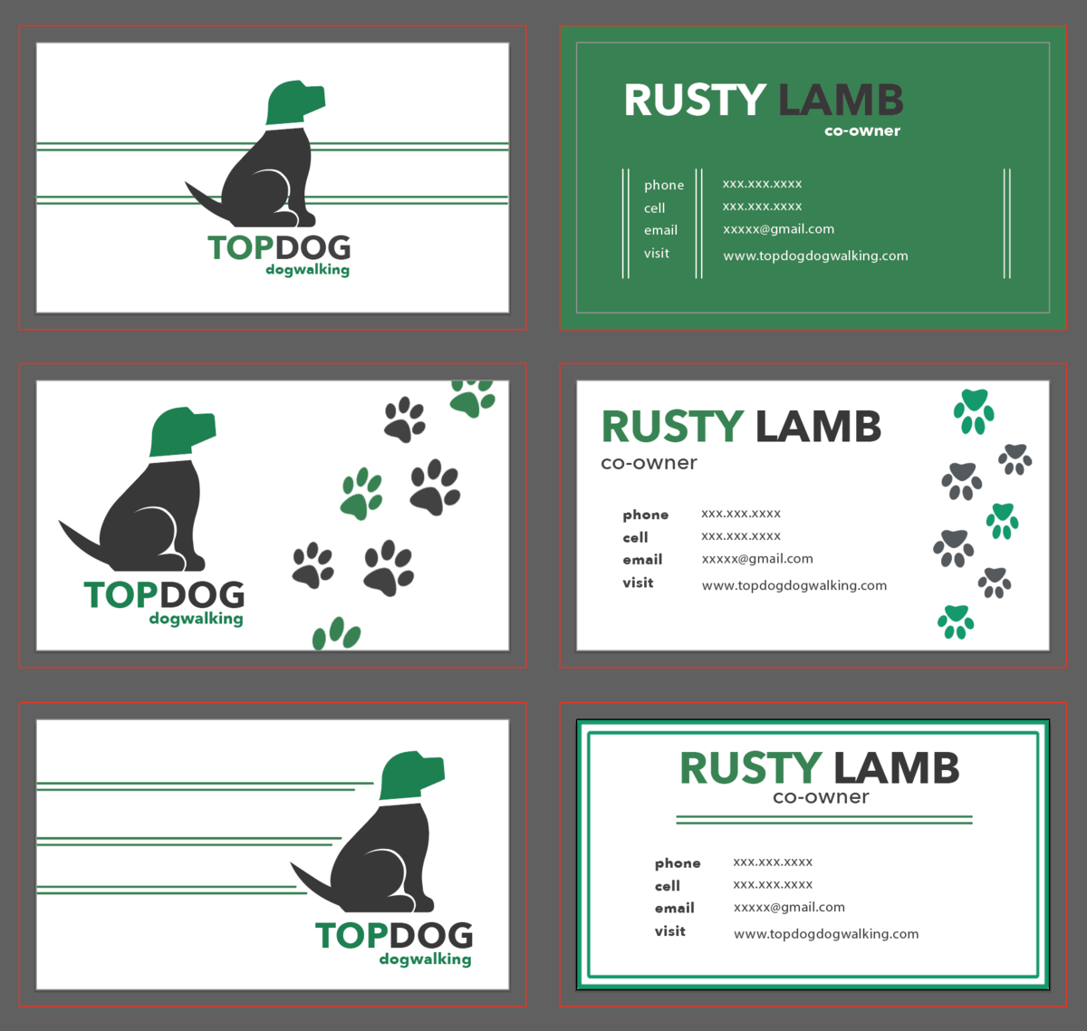 TD Business cards