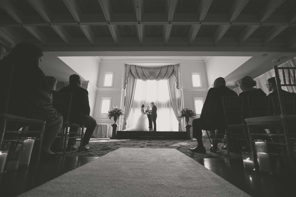Wedding ceremony at The Inn at New Hyde Park