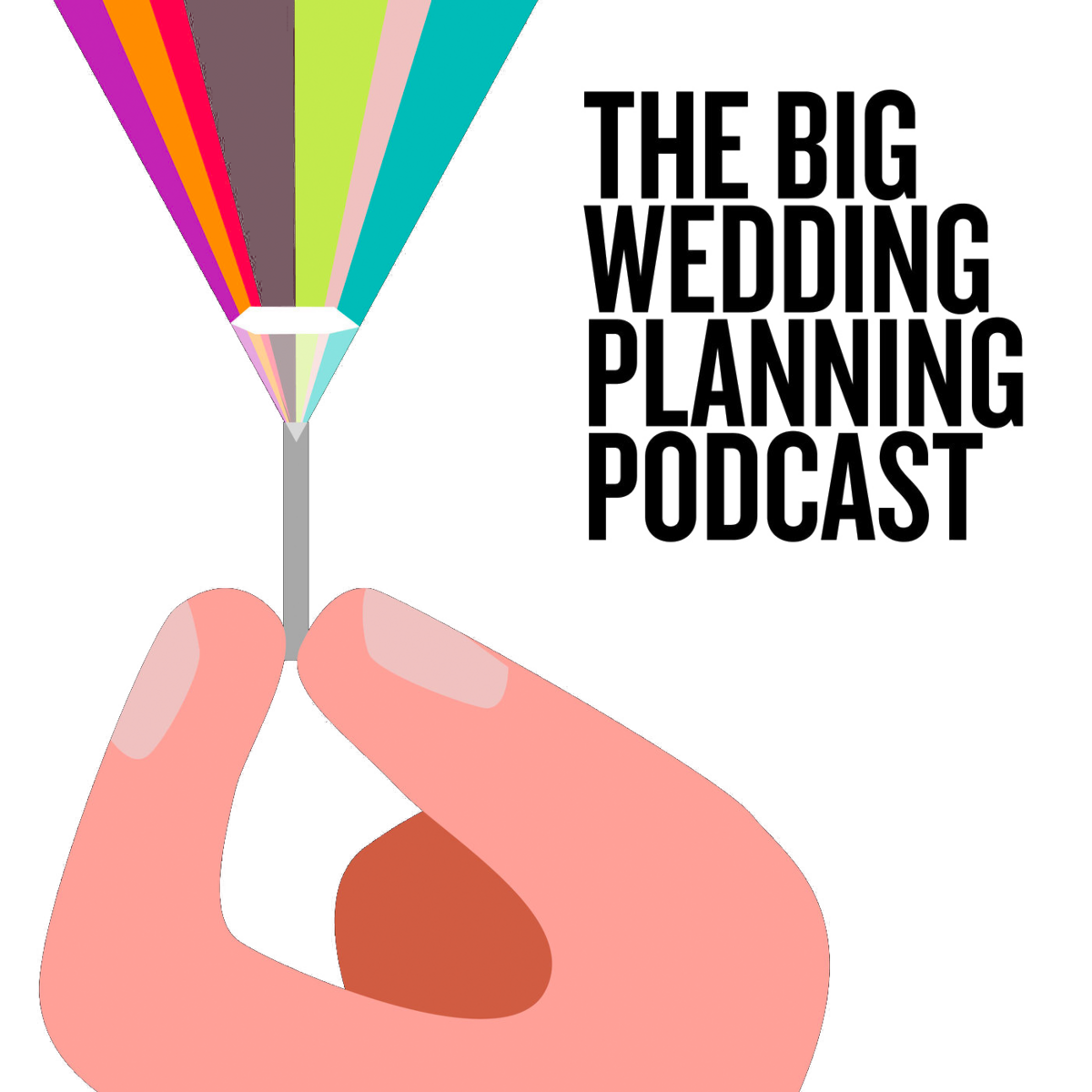 the big wedding planning podcast logo