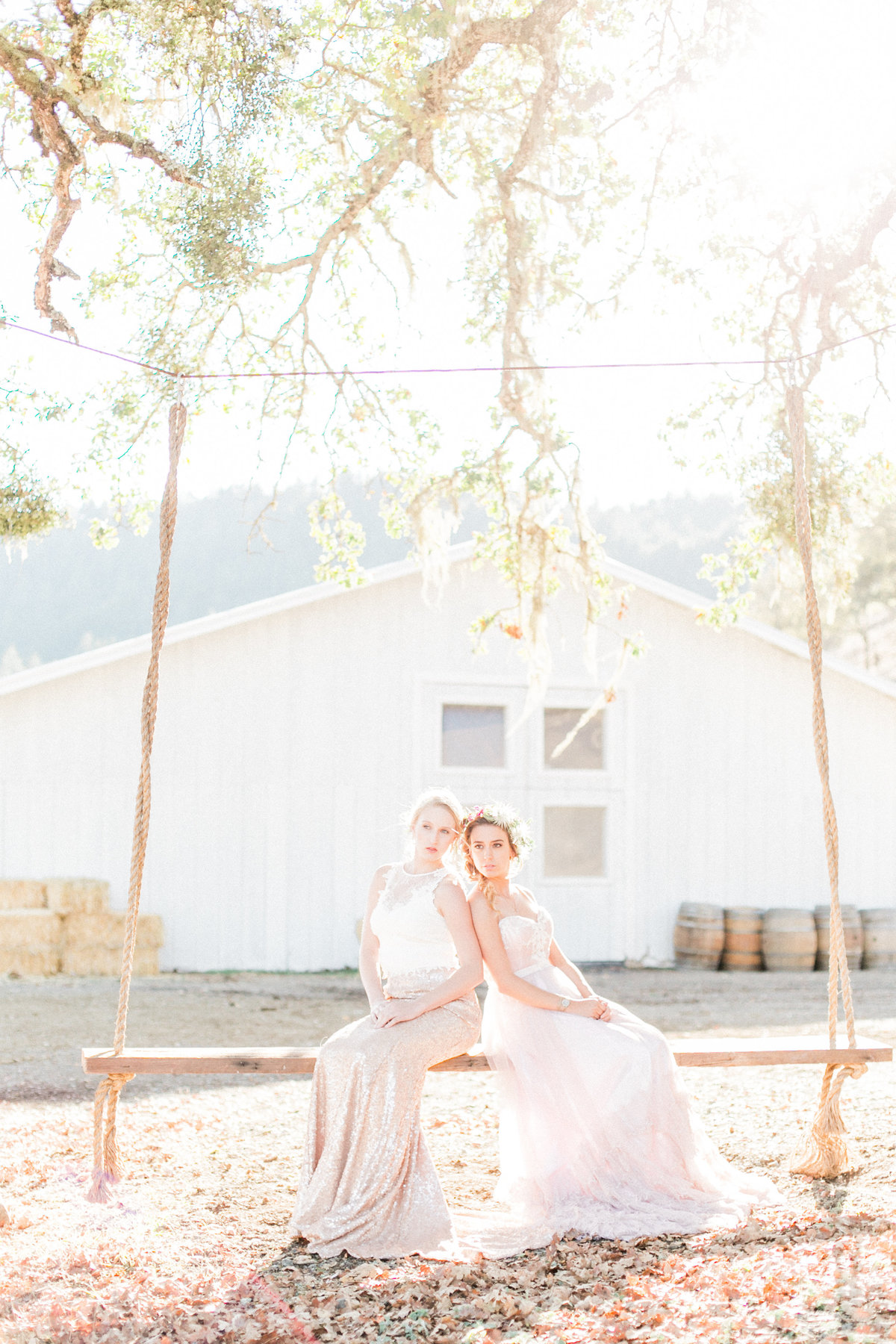 Calistoga Saint Helena Ranch Wedding