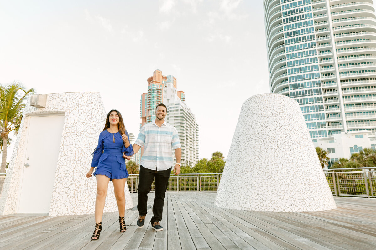 South Pointe Park Engagement Photography Session 14