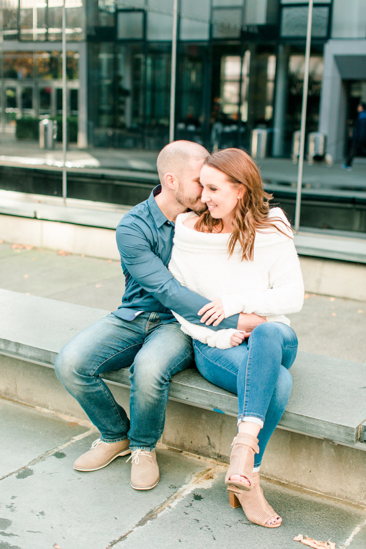 Downtown Seattle Engagement Session_0039