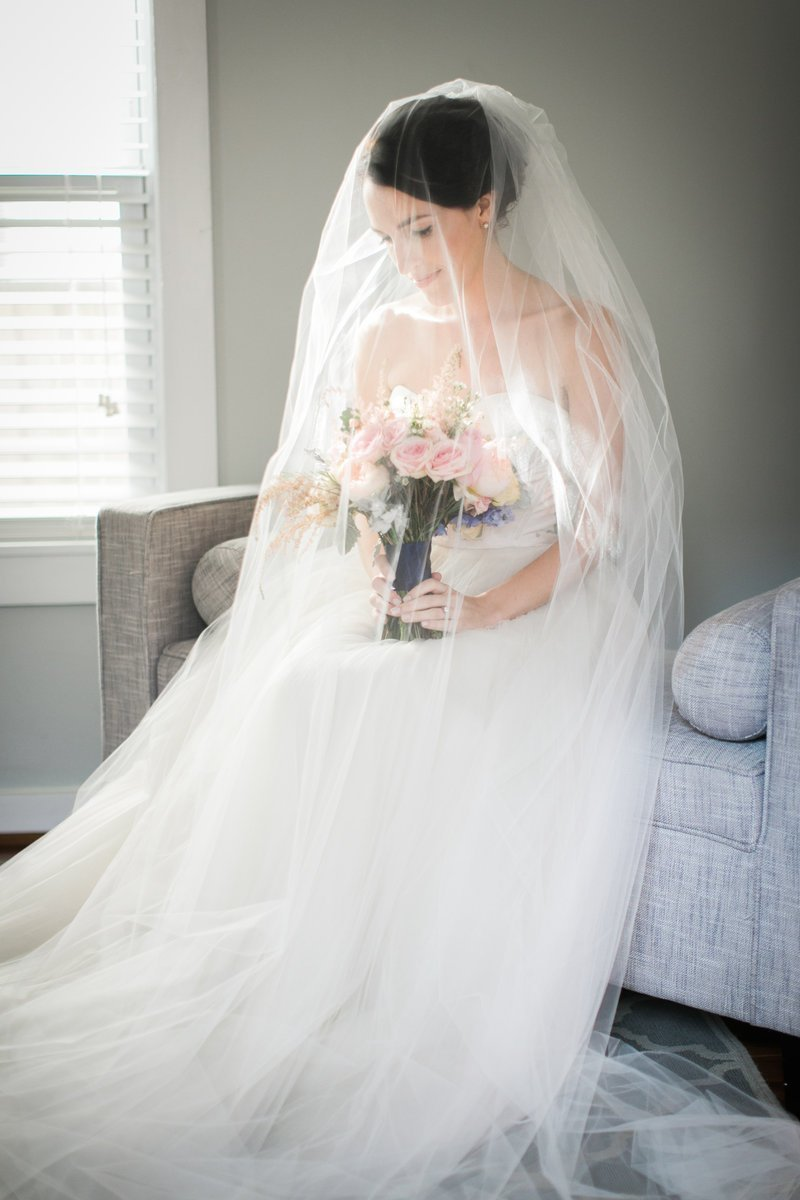 Bridal Portraits Annapolis Maritime Museum Wedding Photographer