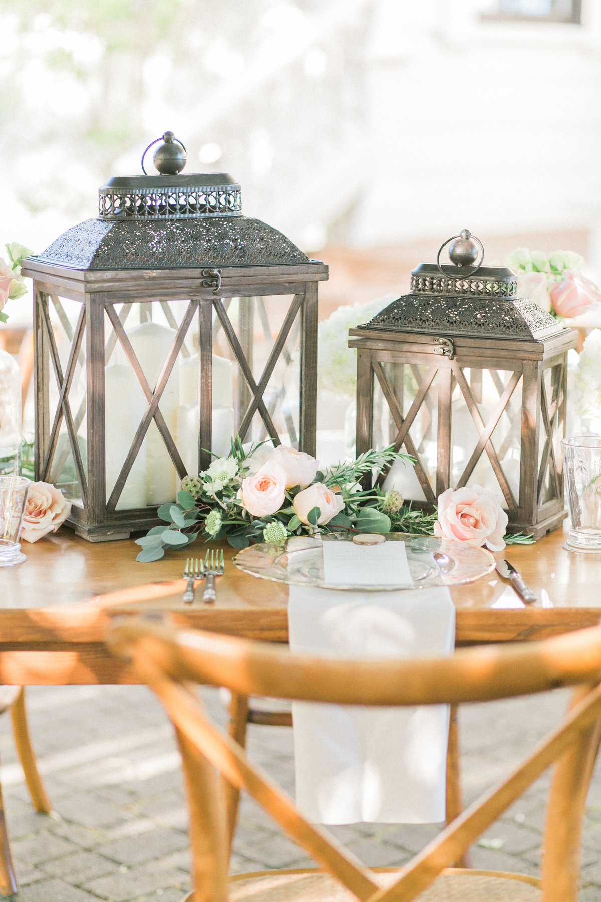 Outdoor Lantern Candle Holders