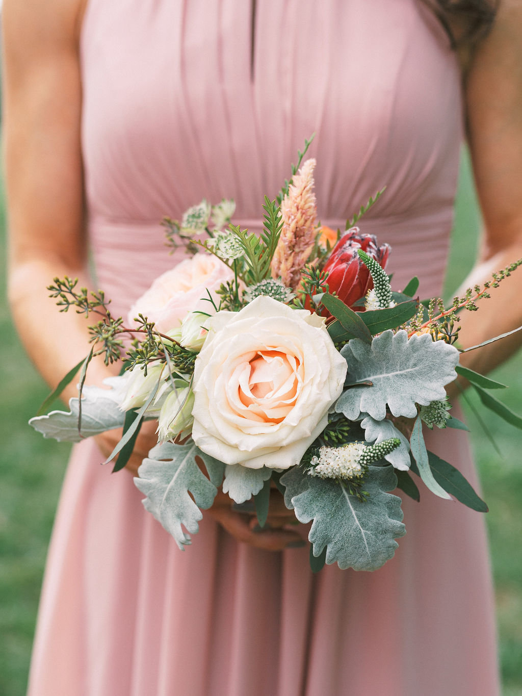 bouquet greenville country club wedding a styled fete