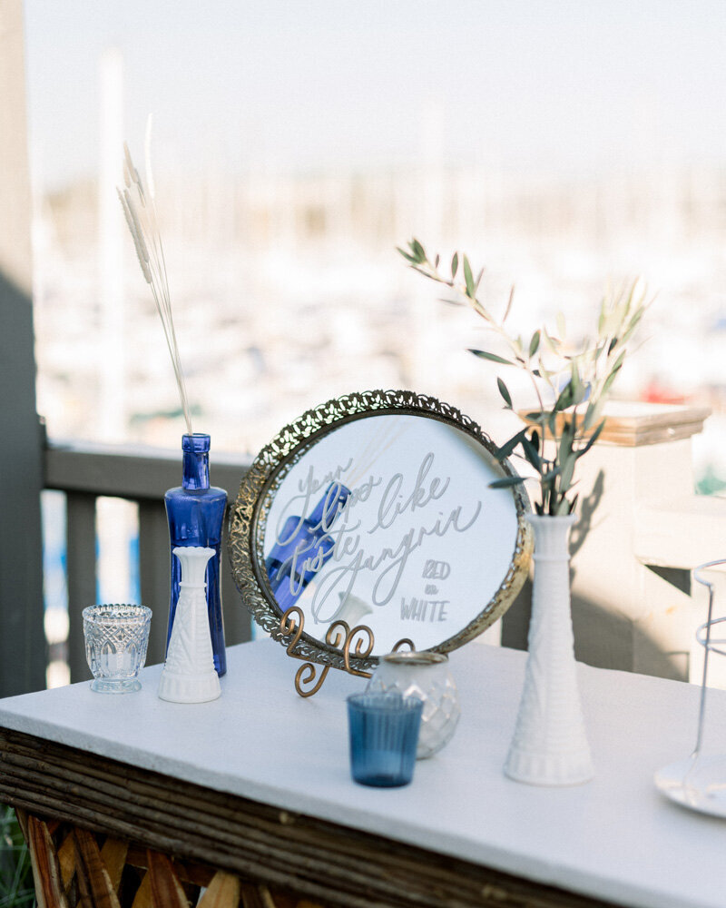 pirouettepaper.com | Wedding Stationery, Signage and Invitations | Pirouette Paper Company | Aventura Ocean Club Dana Point Wedding | Alicia Mink Photography _ (11)