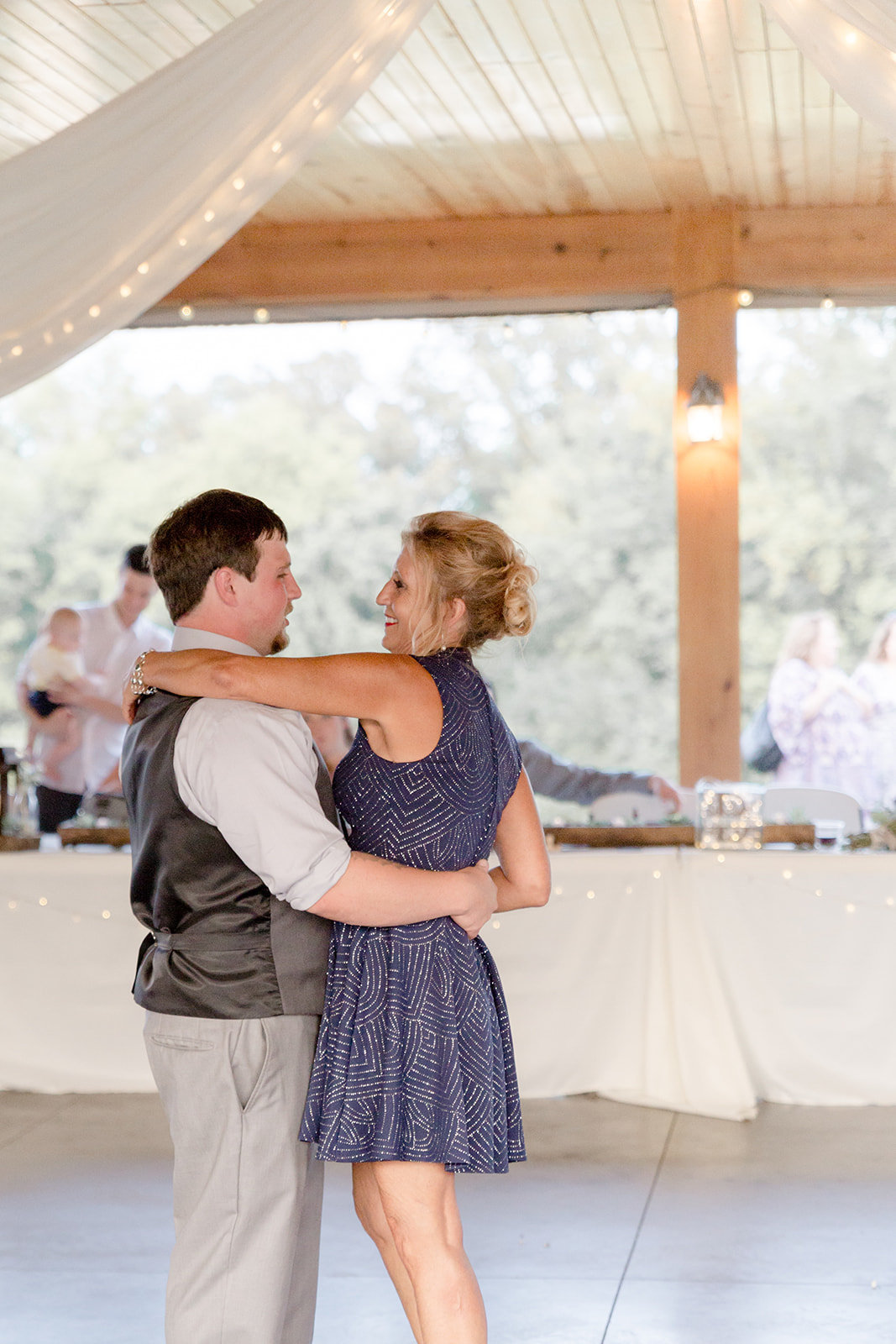 Mother and Son dance at Ridgetop in Prescott Wisconsin