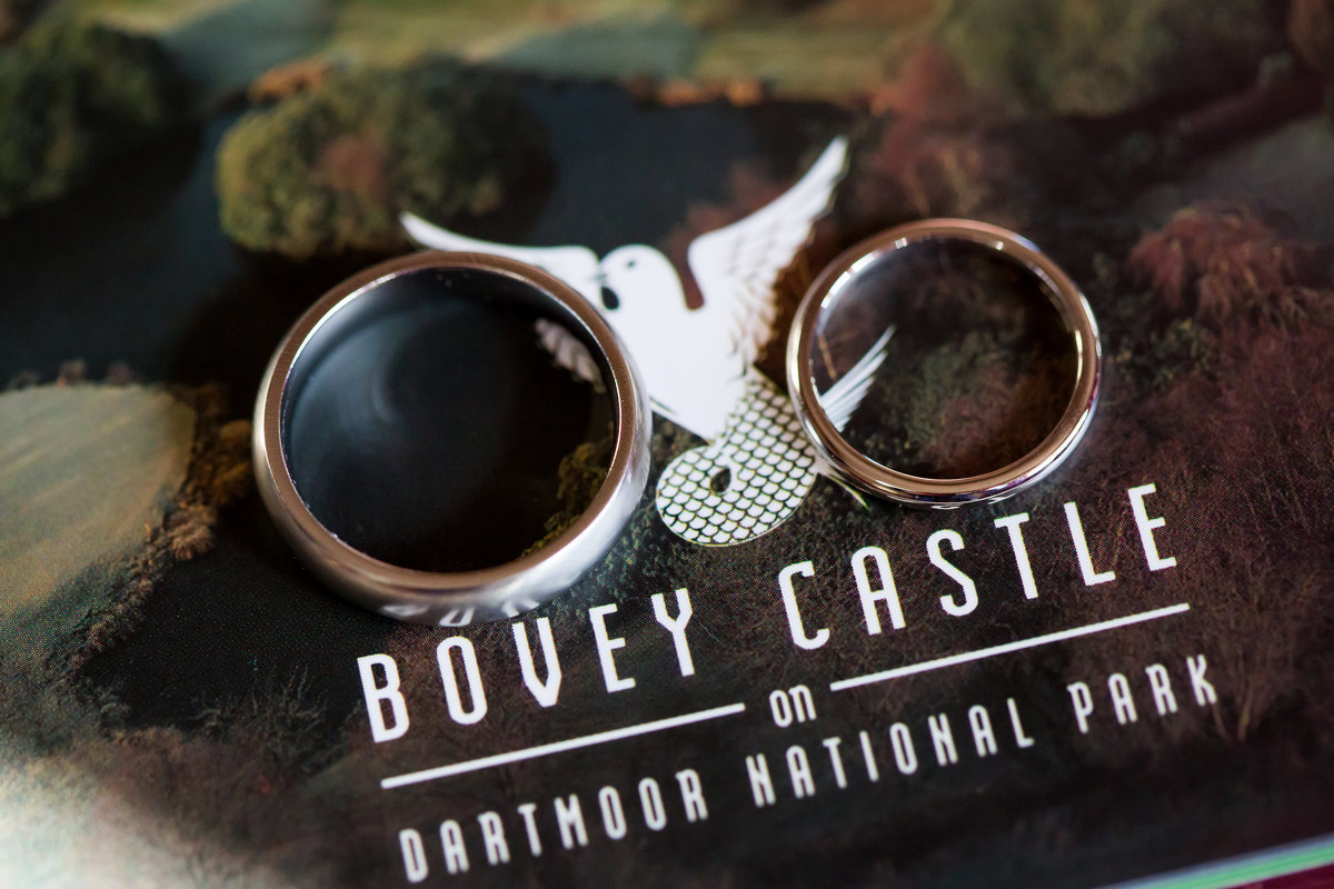 bovey castle wedding rings