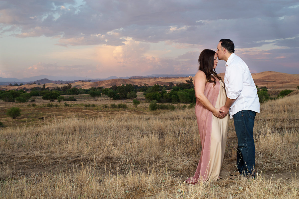 Sunset Maternity Session in Fresno, Ca