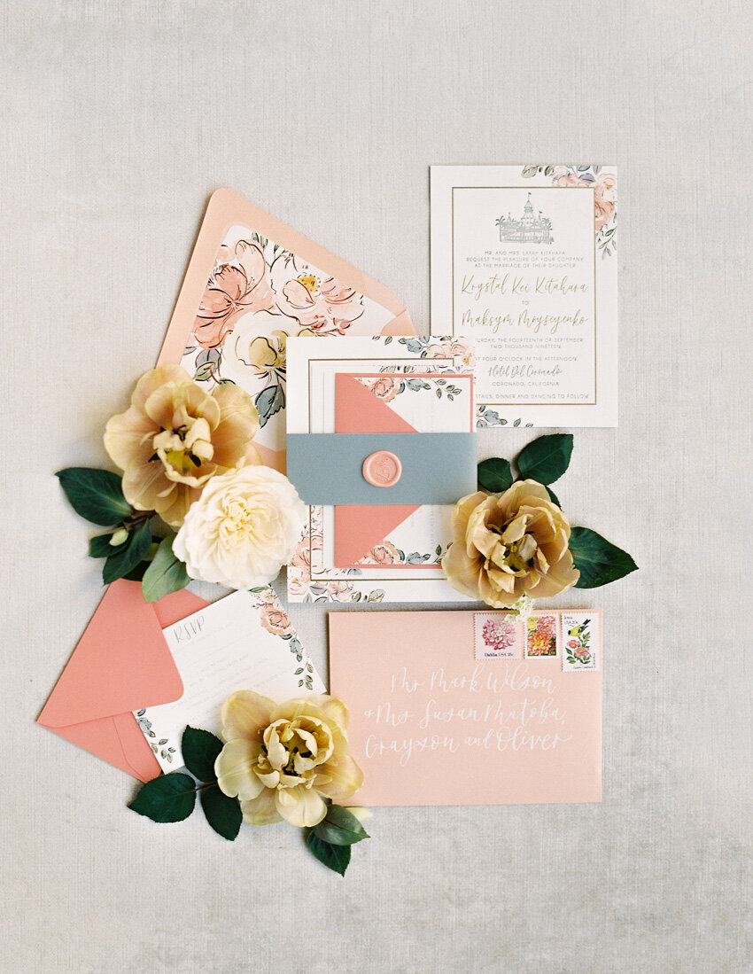 pirouettepaper.com | Wedding Stationery, Signage and Invitations | Pirouette Paper Company | Invitation Styling and Flatlays | Sposto Photography 106