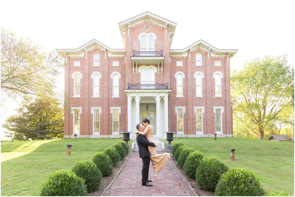 Engagement Session at White Hall in Richmond, KY
