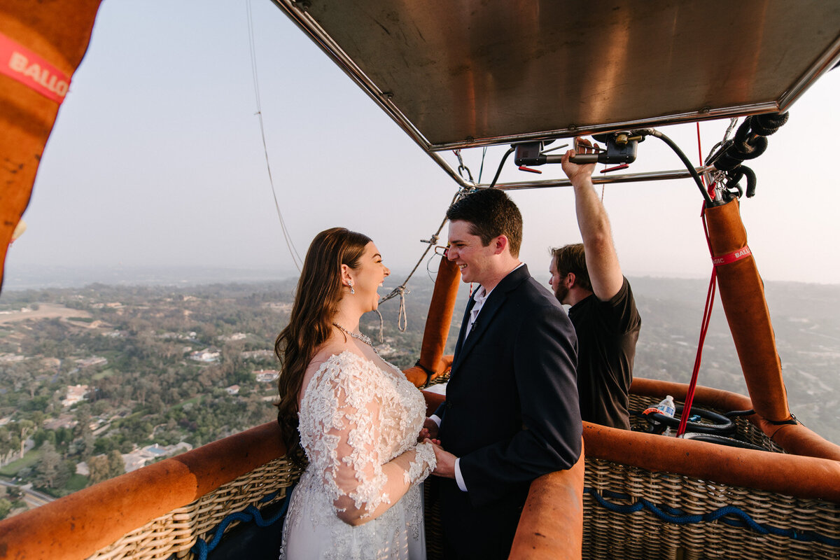 Hot Air Balloon Elopement Marie Monforte Photography-137
