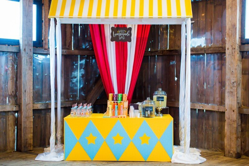 Circus Themed 1st Birthday Indianapolis Party Planner_0046
