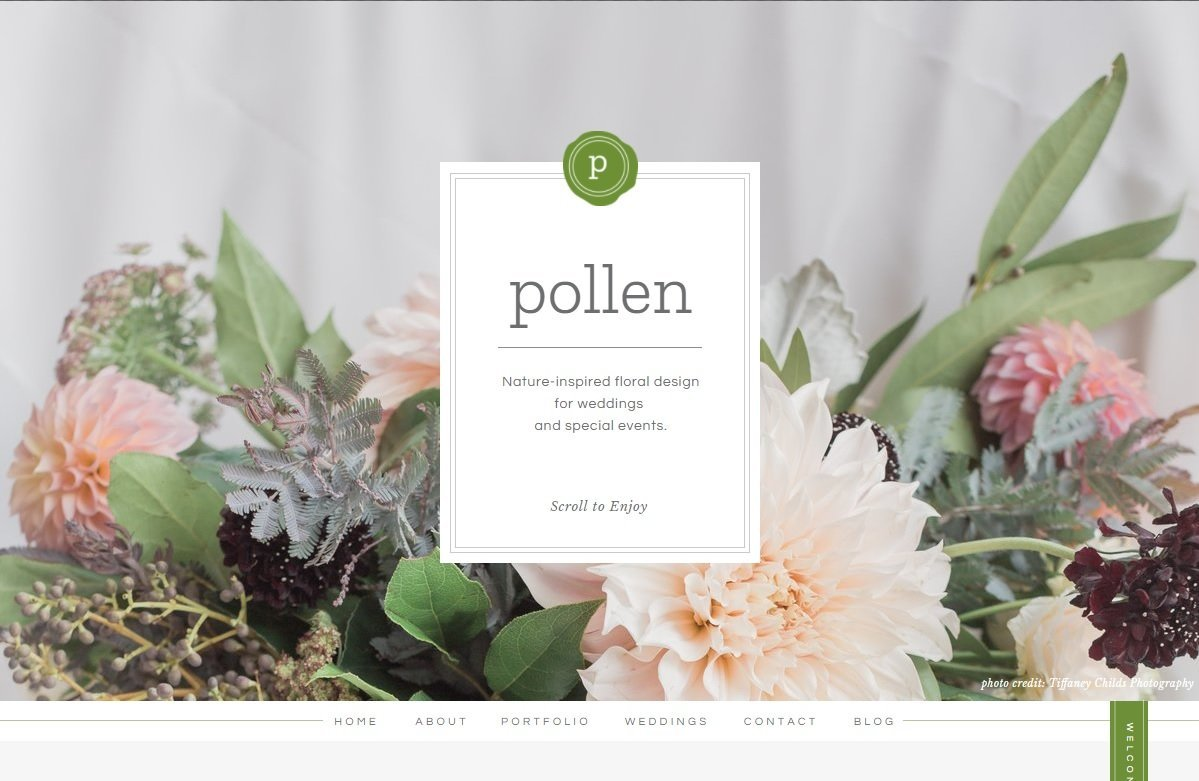 Eco Friendly Wedding And Event Florist Pollen Chicago