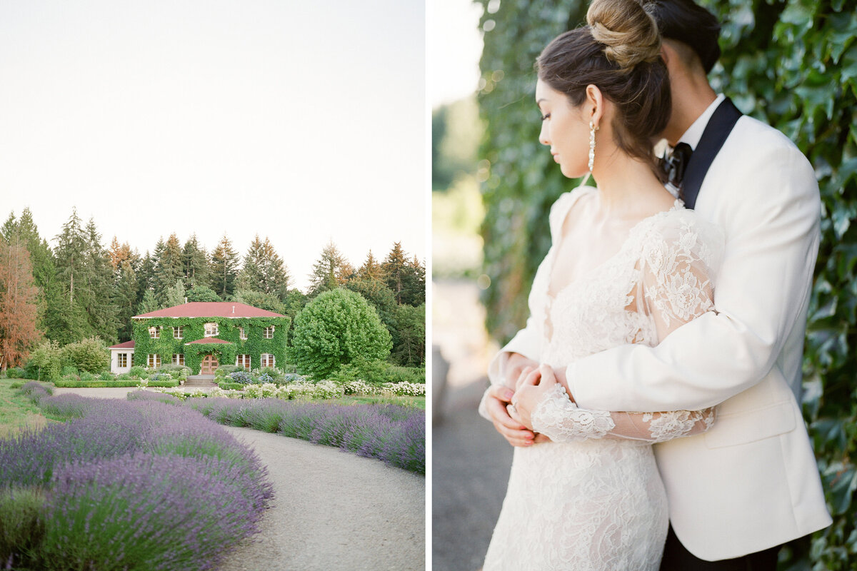 Monet Vineyard - Tetiana Photography - Seattle film wedding photographer - Fine Art - Micro wedding - Elopement