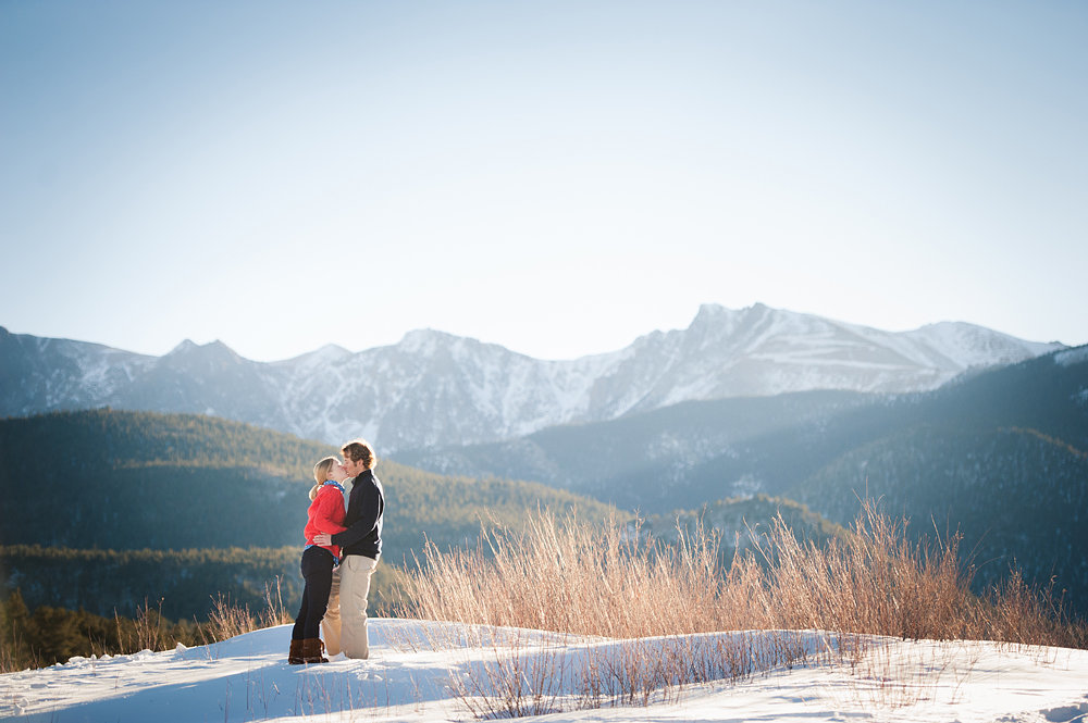 Mountain Engagement Photos in Colorado