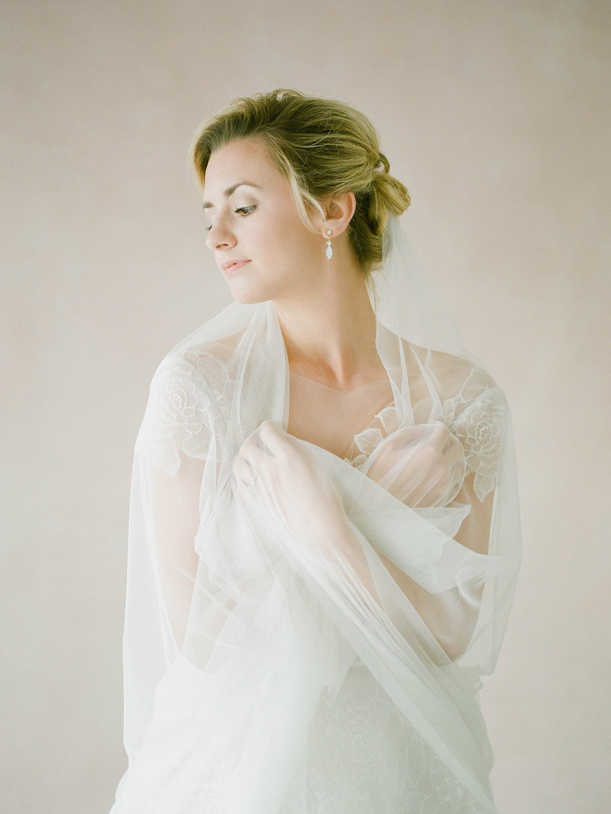 Fine Art Bridal Portraits - Sarah Sunstrom Photography - Film Wedding Photographer - 16