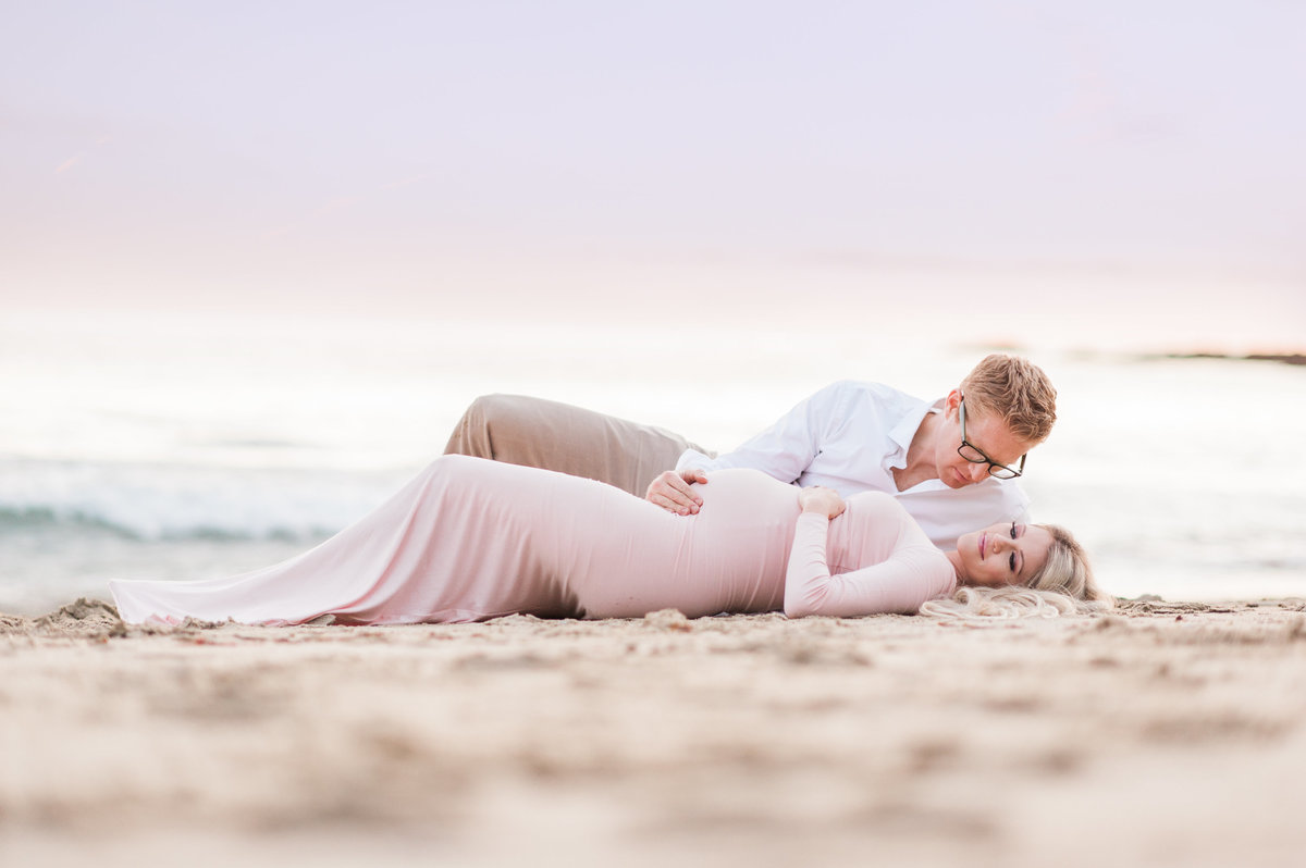 Sexy Beach Maternity Photo012