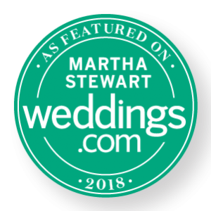 Martha Stewart Wedding Badge